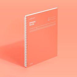 스프링북 컬러칩 - 리빙코랄 (코넬시스템)