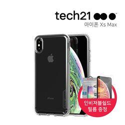 [tech21] 아이폰 XS MAX 퓨어클리어 케이스(인비져블쉴드)