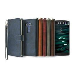 LG V10용 캐시 지갑 다이어리 케이스