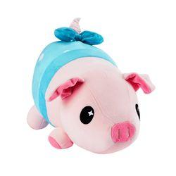 피그피기 말랑말랑 아기 돼지인형 25CM 블루