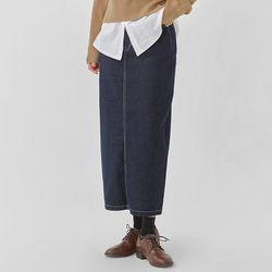 more unique denim skirt (s m l)