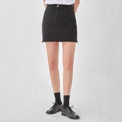 ladyish cotton mini skirt (s m l)