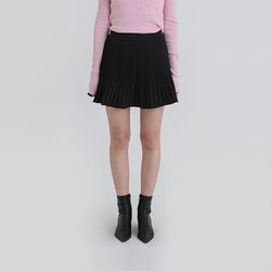 fake pants pleats mini skirt (5colors)