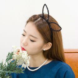 A0052 반짝이 파티 헤어밴드 2종세트