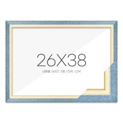 퍼즐액자 26x38 고급형 수지 블루