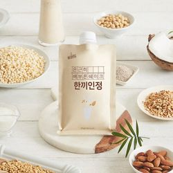 [무료배송] 한끼인정 - 간편 아침식사대용 선식 곡물쉐이크 (7팩x2박스)