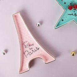 피치 파리 에펠탑 주얼리 다용도 트레이