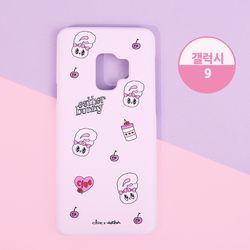 핑크빛 에스더버니 하드 핸드폰케이스 갤럭시S9 CLAB19232ALG