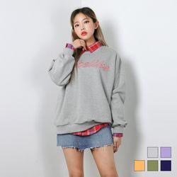 2422 라이크 맨투맨 티셔츠 (5colors)