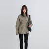 isabel three button miltary jumper (2colors)