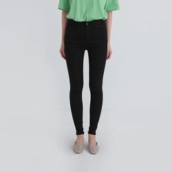 month semi high cotton skinny pants (2colors)