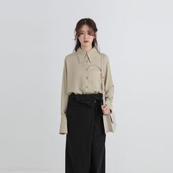 mac collar standard blouse (3colors)