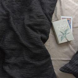 [Fabric] 퓨어헤링본 차콜 Charcoal - 퓨어린넨
