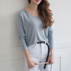 그레이썸 마담 브이넥 루즈핏 오버핏 티셔츠