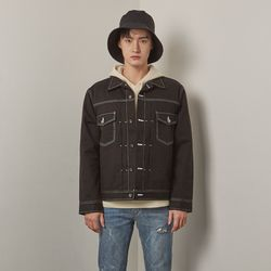 Nd trucker jacket (Black)