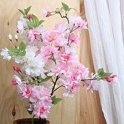 왕 벚꽃 가지 조화(2color)
