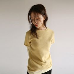 rolling line half knit (3colors)