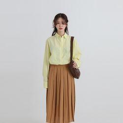 crispy over fit shirt (3colors)
