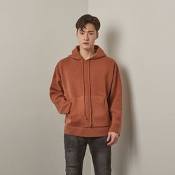 Lot rambswool hoodie knit (Orange)
