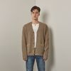 Sn shoulder herrash cardigan (Beige)