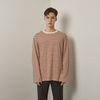 Lts stripe tshirt (Beige-Brown)