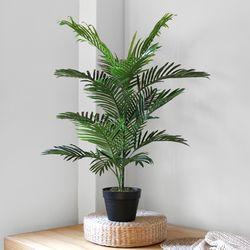 NEW 아레카야자인테리어조화나무(100cm)+무광인테리어화분(특대)