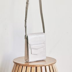 Croc mini sugar bag (beige)