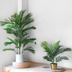 NEW 아레카야자인테리어조화나무(120cm)+무광인테리어화분(특대)