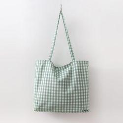 Gingham Check Eco Bag