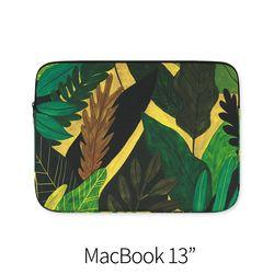 노랑과 초록 (노트북 13인치 파우치)
