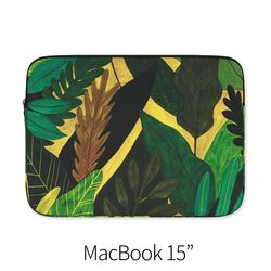 노랑과 초록 (노트북 15인치 파우치)