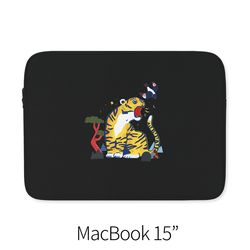 호랑이와 까치 (노트북 15인치 파우치)