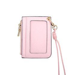 사진 포켓 목걸이 카드지갑 핑크(AG2N9209DAPP)