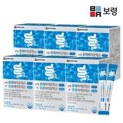 보령 프리바이오틱스 프로바이오틱스 유산균 6박스 (6개월분)