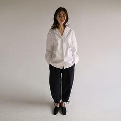 string cotton jogger pants (3colors)