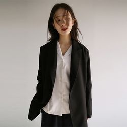 non-button strap jacket (2colors)