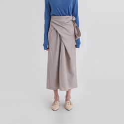 tempo lap maxi skirt (2colors)