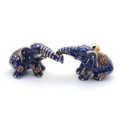 커플코 블루 코끼리 2p
