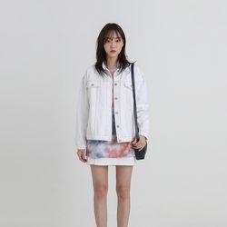 sporty standard denim jacket (2colors)