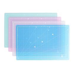 컬러투명 컷팅매트 HOM-A3 데스크 커팅매트 색상선택