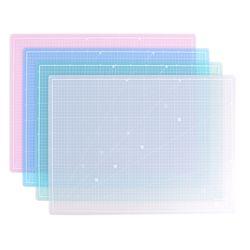 컬러투명 컷팅매트 HOM-A2 색상선택 데스크 커팅매트
