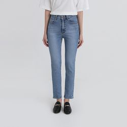 after light slim straight jeans