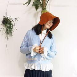 봄바람 소매 단셔링 로맨틱 니트가디건n0214