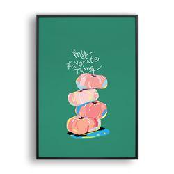 My favorite thing - Donut peach