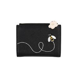 꿀벌 미니 카드 지갑 블랙(AG2H9214OABB)