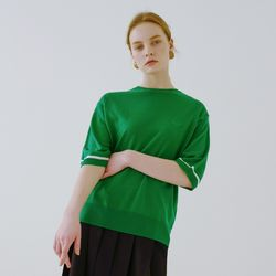 CIRCLE LOGO KNIT (GREEN)