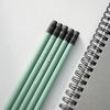 [메시지 이니셜 각인] 우드 원목연필 5본입 세트 Pastel Ver.