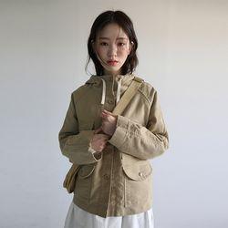 amekaji hoody cotton jacket (2colors)