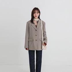 wonder over fit jacket (3colors)