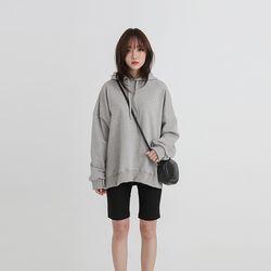 slit boxy hoodie (5colors)